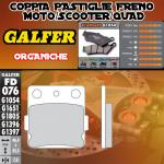 FD076G1054 PASTIGLIE FRENO GALFER ORGANICHE POSTERIORI HUSQVARNA 360 WR 92-94