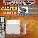 FD076G1054 PASTIGLIE FRENO GALFER ORGANICHE ANTERIORI HM CRF 150 R / R2 08-