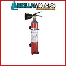 3020062 ESTINTORE PER BARCA CO2 SOLAS 2KG Estintori M.E.D. 96/98/EC (CO2)