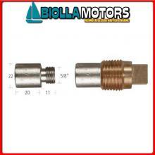 5127543 ANODO BARROTTO Barrotti Motore Caterpillar (22x20mm)