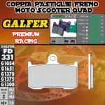 FD331G1651 PASTIGLIE FRENO GALFER PREMIUM ANTERIORI SUZUKI B-KING 07-
