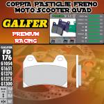 FD176G1651 PASTIGLIE FRENO GALFER PREMIUM ANTERIORI HYOSUNG AQUILA 700 GV i 10-