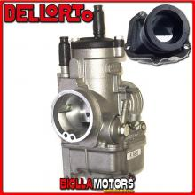 BR-54+06831 CARBURATORE DELLORTO PHBE 34 BS + COLLETTORE INCLINATO ROTAX 122