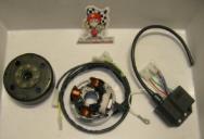016.T3K IGNITION ANALOG LEONELLI per motori AM6 no avviamento elettrico