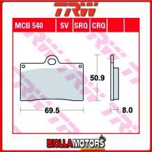 MCB540 PASTIGLIE FRENO ANTERIORE TRW Sachs XTC 125 Racing 1999-2007 [ORGANICA- ]