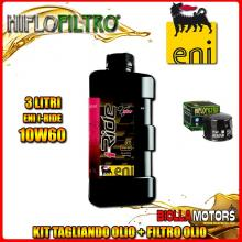 KIT TAGLIANDO 3LT OLIO ENI I-RIDE 10W60 TOP SYNTHETIC BMW F650 GS 800CC 2008-2011 + FILTRO OLIO HF160