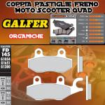 FD145G1054 PASTIGLIE FRENO GALFER ORGANICHE ANTERIORI KYMCO PEOPLE 300 RIGHT/DER. 08-