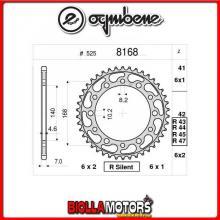 368168R44 CORONA TRASMISSIONE 44 PASSO 525 BMW F 800 R ( K-73 ) 2013- 800CC