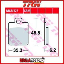 MCB827SRM PASTIGLIE FRENO ANTERIORE TRW Piaggio 125 MP3 RL/LT 2007-2009 [SINTERIZZATA- SRM]