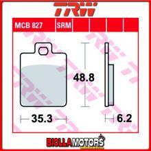 MCB827 PASTIGLIE FRENO POSTERIORE TRW Peugeot 150 Tweet RS 2010-2013 [ORGANICA- ]