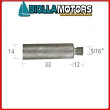 5127051 ANODO BARROTTO Barrotti Motore Caterpillar (14x33mm)