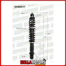 SAM0011 COPPIA AMMORTIZZATORI ANTERIORI MICROCAR GRECAV EKE II BAF080007837 (MK011)