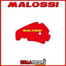 1412129 SPUGNA FILTRO ARIA MALOSSI DERBI RAMBLA 125 4T LC EURO 3 (PIAGGIO M287M) RED SPONGE PER FILTRO ORIGINALE -