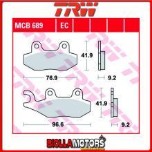 MCB689 PASTIGLIE FRENO ANTERIORE TRW Kreidler 125 Enduro 2007- [ORGANICA- ]