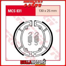MCS831 GANASCE FRENO POSTERIORE TRW Honda CN 250 Helix 1988-1992 [ORGANICA- ]