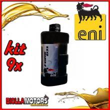 KIT 9X LITRO OLIO ENI FORK OIL 7.5W FORCELLA - 9x E142691