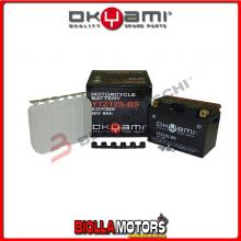 E07059 BATTERIA OKYAMI YTZ12S-BS SIGILLATA CON ACIDO YTZ12SBS MOTO SCOOTER QUAD CROSS