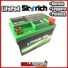 HJTZ7S-FP BATTERIA LITIO SKYRICH YTZ7S-BS LiFePo4 - YTZ7SBS MOTO SCOOTER QUAD CROSS