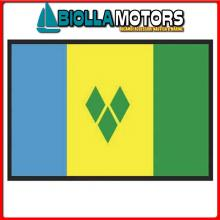 3403920 BANDIERA S.VINCENT 20X30CM Bandiera S.Vincent and Grenadines