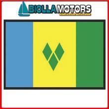 3403930 BANDIERA S.VINCENT 30X45CM Bandiera S.Vincent and Grenadines