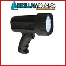 2120910 PROIETTORE LED 3W 500K CP Torcia LED Black Eye 50