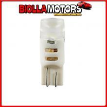 98268 LAMPA 24-28V MEGA-LED 3 - 3 SMD X 1 CHIP - (T10) - W2,1X9,5D - 2 PZ - D/BLISTER - BIANCO - DOPPIA POLARIT?