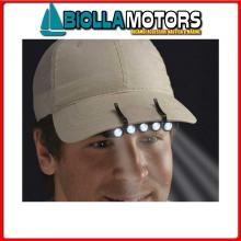 2114606 TORCIA LED HEAD CAP< Luce Frontale LED Cap