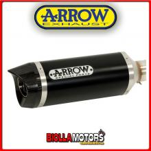 51513AKN MARMITTA ARROW STREET THUNDER YAMAHA MT 125 2014-2016 DARK/CARBONIO