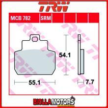 MCB782SRM PASTIGLIE FRENO POSTERIORE TRW Piaggio 125 MP3 RL/LT 2007-2009 [SINTERIZZATA- SRM]