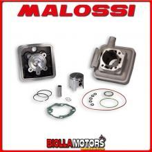 318394 GRUPPO TERMICO MALOSSI D.45,5 PEUGEOT 103 SP [104 -105] - VOGUE 50 2T ALLUMINIO H2O CON DECOMPRESSORE