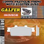 FD399G1054 PASTIGLIE FRENO GALFER ORGANICHE POSTERIORI PEUGEOT LXR 200 10-