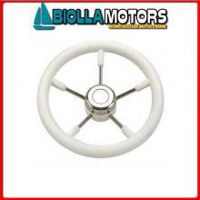 4645834 VOLANTE D350 P/STEEL WHITE Volante Classic P/Steel