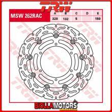 MSW262RAC DISCO FRENO ANTERIORE TRW Yamaha FJR 1300 ,ABS 2003-2005 [FLOTTANTE - CON CONTOUR]