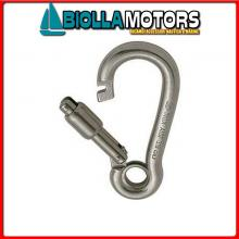 0211910 MOSCHETTONE EYE OUT D10 INOX Moschettone Kong Out Lock Eye