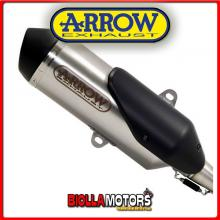 53513XN TERMINALE ARROW URBAN SYM GTS 125i 2015-2016 INOX/DARK