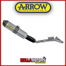 72030TK SCARICO COMPLETO ARROW MX COMPETITION RACING HUSQVARNA SMR 511 2011-2013 TITANIO/CARBONIO