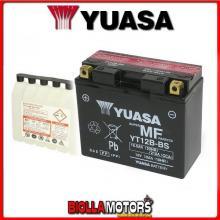 YT12B-BS BATTERIA YUASA 12V 11AH DUCATI Multistrada 1200 1198 2006- 0651100 YT12BBS