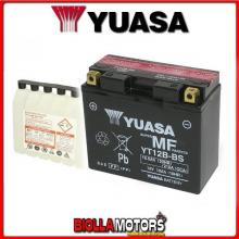 YT12B-BS BATTERIA YUASA 12V 11AH DUCATI Multistrada 1200 1198 2010- 0651100 YT12BBS