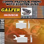 FD254G1054 PASTIGLIE FRENO GALFER ORGANICHE ANTERIORI KAWASAKI KX 65 00-04