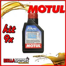 KIT 9X 500ML MOCOOL MOTUL ADDITIVO RADIATORE MOTUL 500 ML - 9x 107798