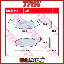 MCB843SH PASTIGLIE FRENO POSTERIORE TRW Kawasaki VN 900 Classic, LT, SE 2006-2017 [SINTERIZZATA- SH]