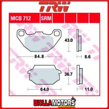 MCB712LC PASTIGLIE FRENO POSTERIORE TRW Kawasaki KFX 50 KSF 2007- [ORGANICA- LC]