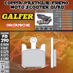 FD290G1054 PASTIGLIE FRENO GALFER ORGANICHE ANTERIORI SUZUKI VZ 1600 INTRUDER 05-