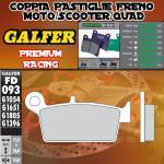 FD093G1651 PASTIGLIE FRENO GALFER PREMIUM POSTERIORI HYOSUNG XRX 400 05-