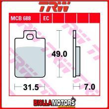 MCB688 PASTIGLIE FRENO ANTERIORE TRW Piaggio RST 50 Sfera 1991-1995 [ORGANICA- ]