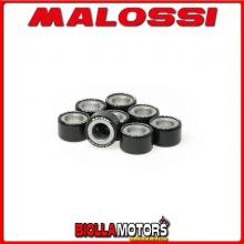 6613561.Z0 8 RULLI RULLI VARIATORE MALOSSI D. 25X14,9 GR. 10 KYMCO XCITING 400 IE 4T LC EURO 3 (SK80) - -