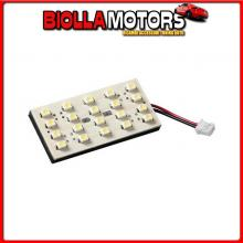 98374 LAMPA 24V HYPER-LED - PANNELLO 20 SMD - 25X50 MM - 1 PZ - D/BLISTER - ROSSO