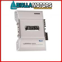 5640111 AMPLIFICATORE BOSS MARINE MR404< Amplificatore BOSS MR1004 75W x4