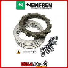 F1475ACM KIT DISQUES D'EMBRAYAGE NEWFREN APRILIA RS 2006-2010 50CC CONDUCTORS+CONDUCTED+RESSORT STANDARD