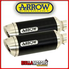 71731AON MARMITTE ARROW STREET THUNDER DUCATI Monster 796 2010-2014 DARK/INOX
